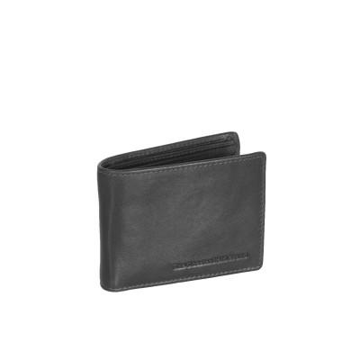 Leather Wallet Black Martin
