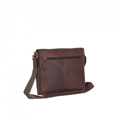 Photo of Leather Shoulder Bag Brown Large Alden