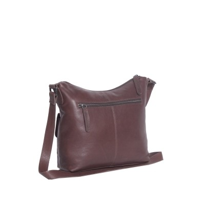 Photo of Leather Shoulder Bag Brown Hailey