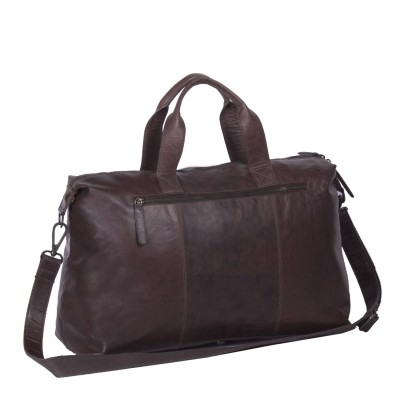 Photo of Leather Weekend Bag Brown Maeryn