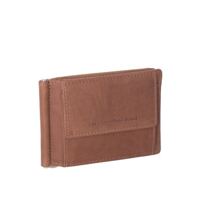 Leather Wallet Cognac Dave
