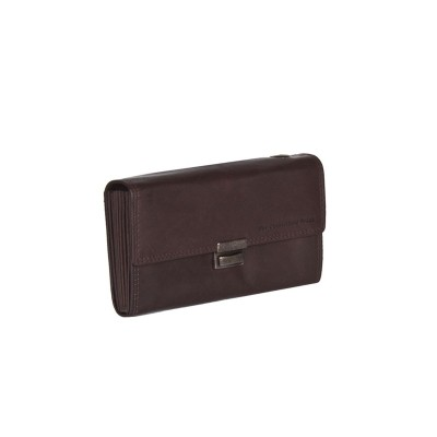 Leather Wallet Brown Jason