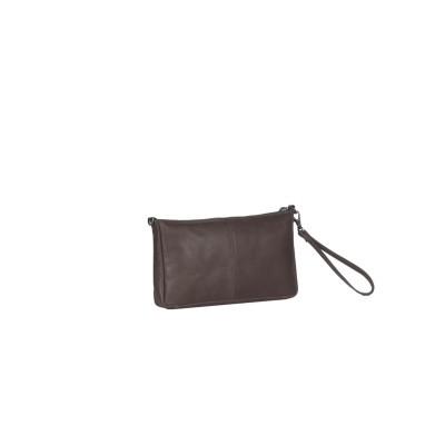 Photo of Leather Clutch Brown Sky