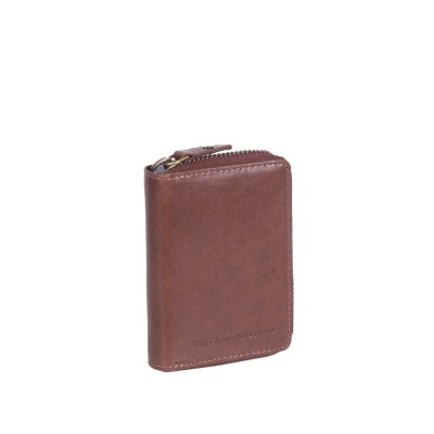 Leather Wallet Cognac Jim