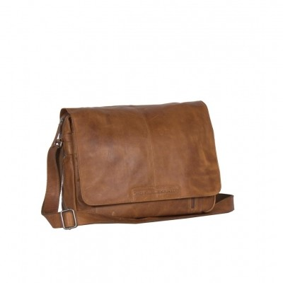 Leren Laptoptas Cognac Richard