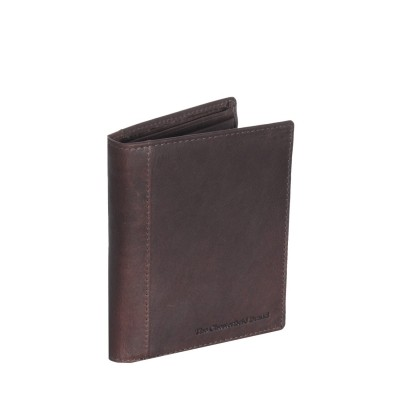 Leather Wallet Brown Ethel
