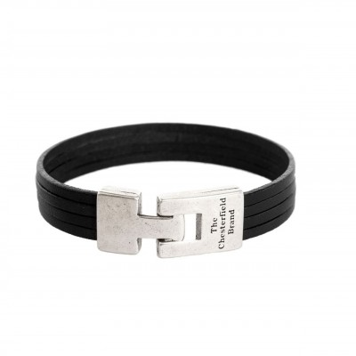 Photo of Leather Bracelet Black Katniss