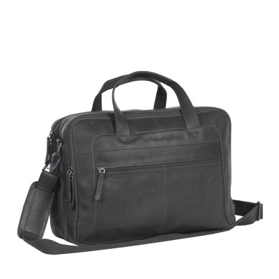 Photo of Leather Laptop Bag Black Ryan