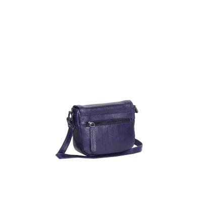Photo of Leather Shoulder Bag Navy June
