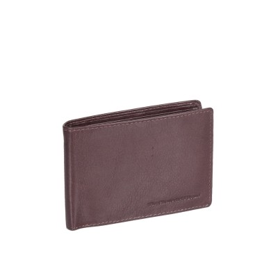 Leather Wallet Brown Gill