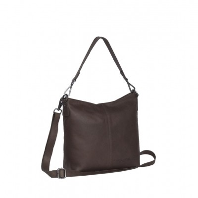 Photo of Leather Shoulder Bag Brown Jen