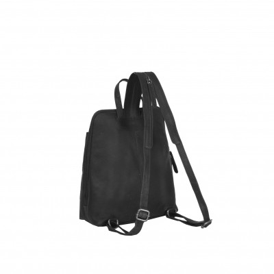 Photo of Leather Backpack Black Clair