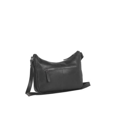 Photo of Leather Shoulder Bag Black Aubrey