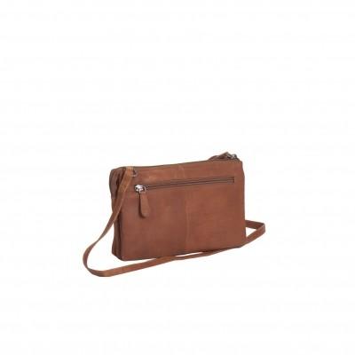 Photo of Leather Shoulder Bag Cognac Sadie