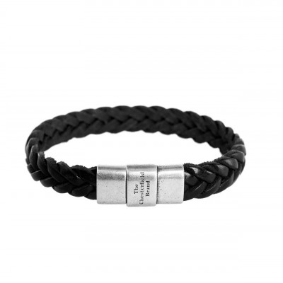 Photo of Leather Bracelet Black Java