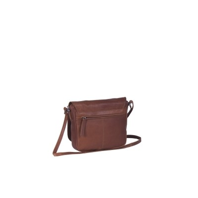 Photo of Leather Shoulder Bag Cognac Cis