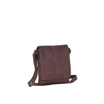 Leather Shoulder Bag Brown Bodin