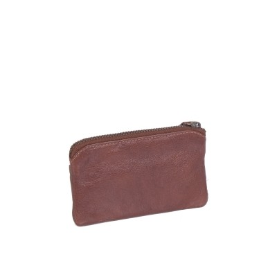 Photo of Leather Key Pouch Cognac David