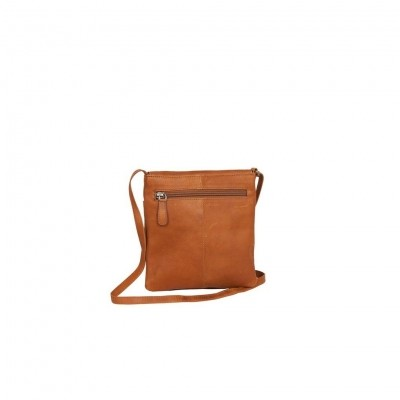 Photo of Leather Shoulder Bag Cognac Small August