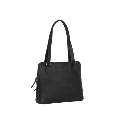 Photo of Leather Shoulder Bag Black Manon