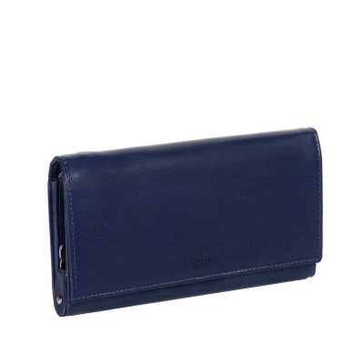 Photo of Leather Wallet Navy Vilai