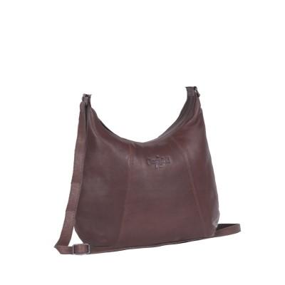 Leather Shoulder Bag Brown Jolie