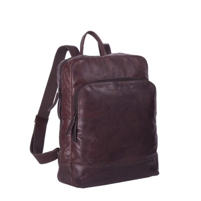 Photo of Leather Backpack Brown Mack