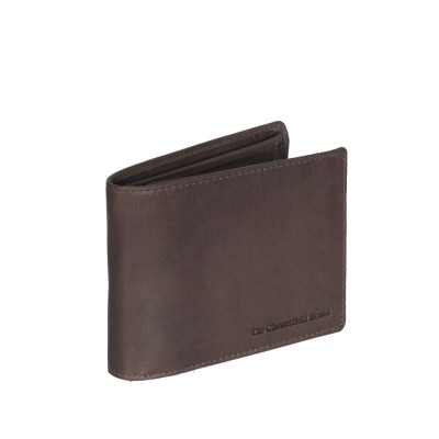 Leather Wallet Brown Marion