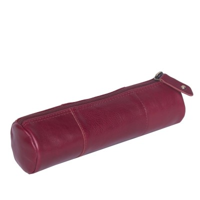 Photo of Leather Pen Case Red Don
