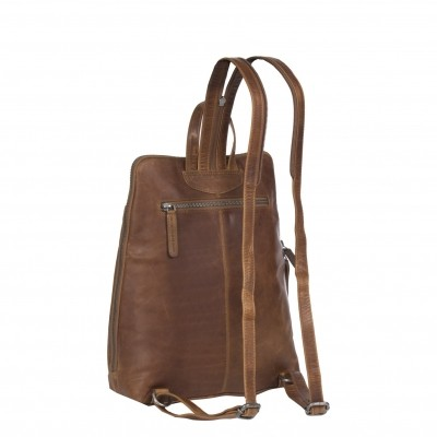 Photo of Leather Backpack Cognac Claire