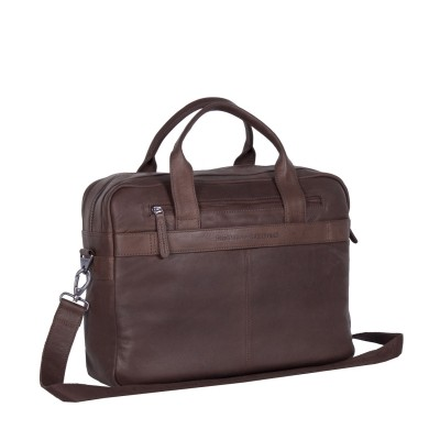 Photo of Leather Laptop Bag Brown Jake