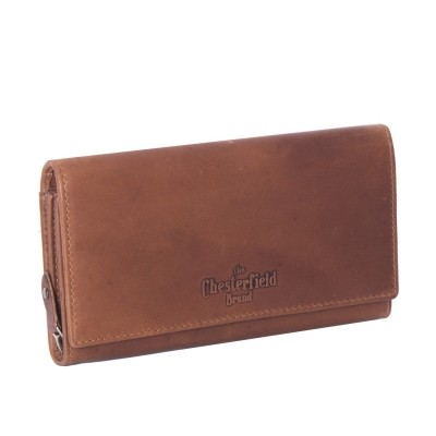 Photo of Leather Wallet Cognac Mirthe