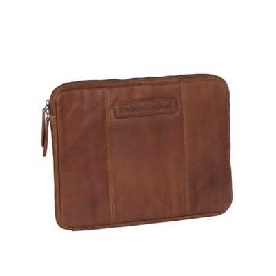 Leather Laptop Sleeve Cognac Ray