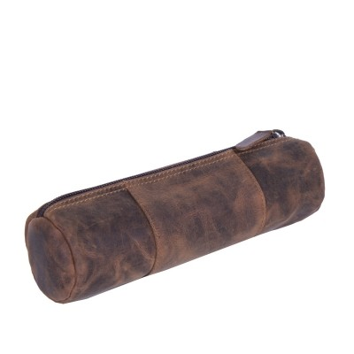 Photo of Leather Pen Case Brown Ben