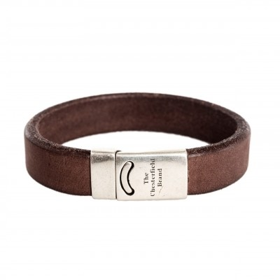Photo of Leather Bracelet Brown Thor