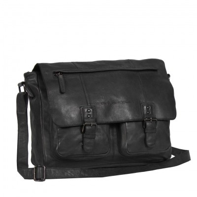 Photo of Leather Shoulder Bag Anthracite Jeffery