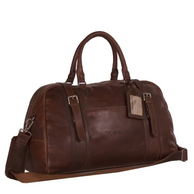 Photo of Leather Travelbag Cognac Avan