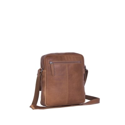 Photo of Leather Shoulder Bag Cognac Morgan