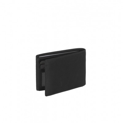 Photo of Leather Wallet Black Marvin