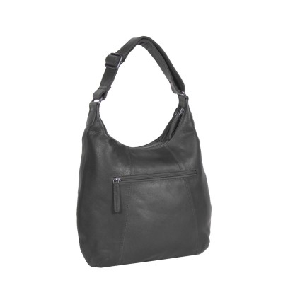 Photo of Leather Shoulder Bag Black Floor