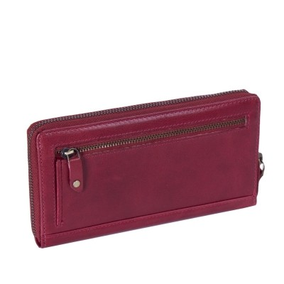 Photo of Leather Wallet Red Bridget