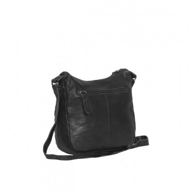 Photo of Leather Shoulder Bag Black Florence