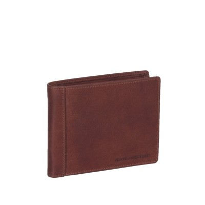 Leather Wallet Cognac Alvina