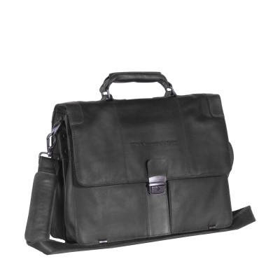 Photo of Leather Shoulder Bag Black Joe