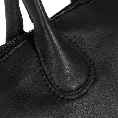 Photo of Leather Shopper Black Label Anthracite Lily