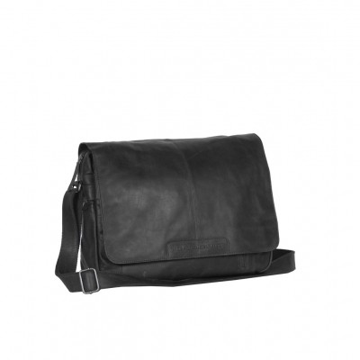 Photo of Leather Laptop Bag Black Richard