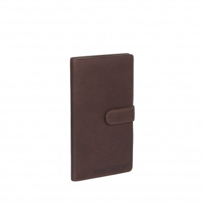 Leather Wallet Brown Avelon