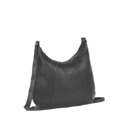 Leather Shoulder Bag Black Jolie