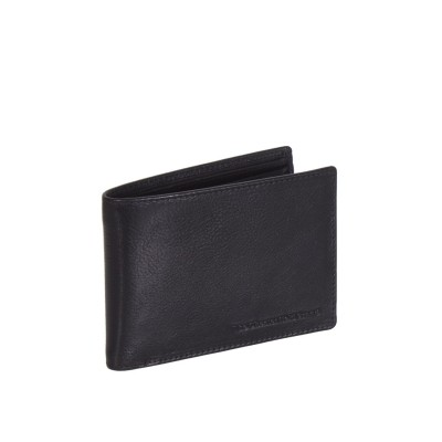 Leather Wallet Black Gill
