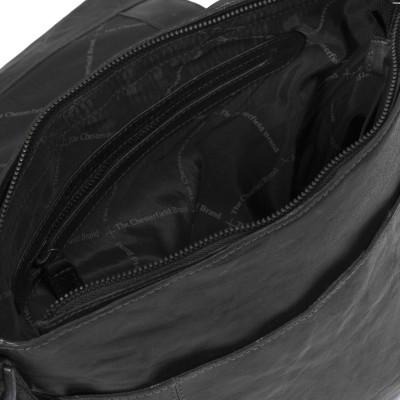 Photo of Leather Shoulder Bag Black Maeve